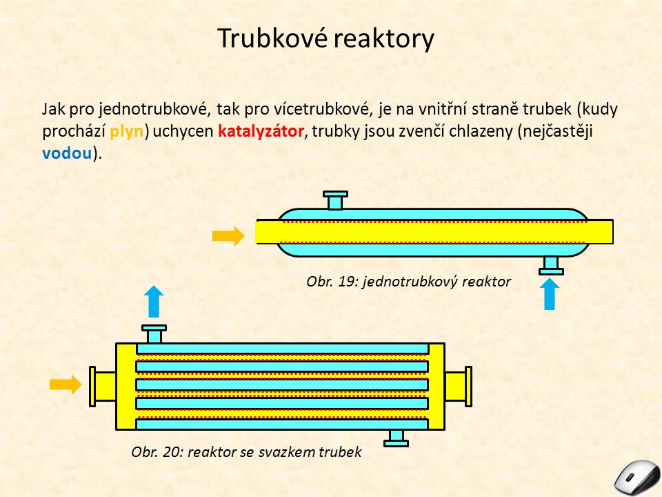 Trubkové reaktory