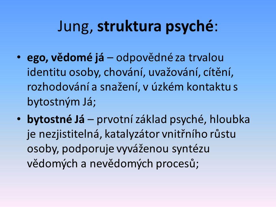 Jung, struktura psyché: