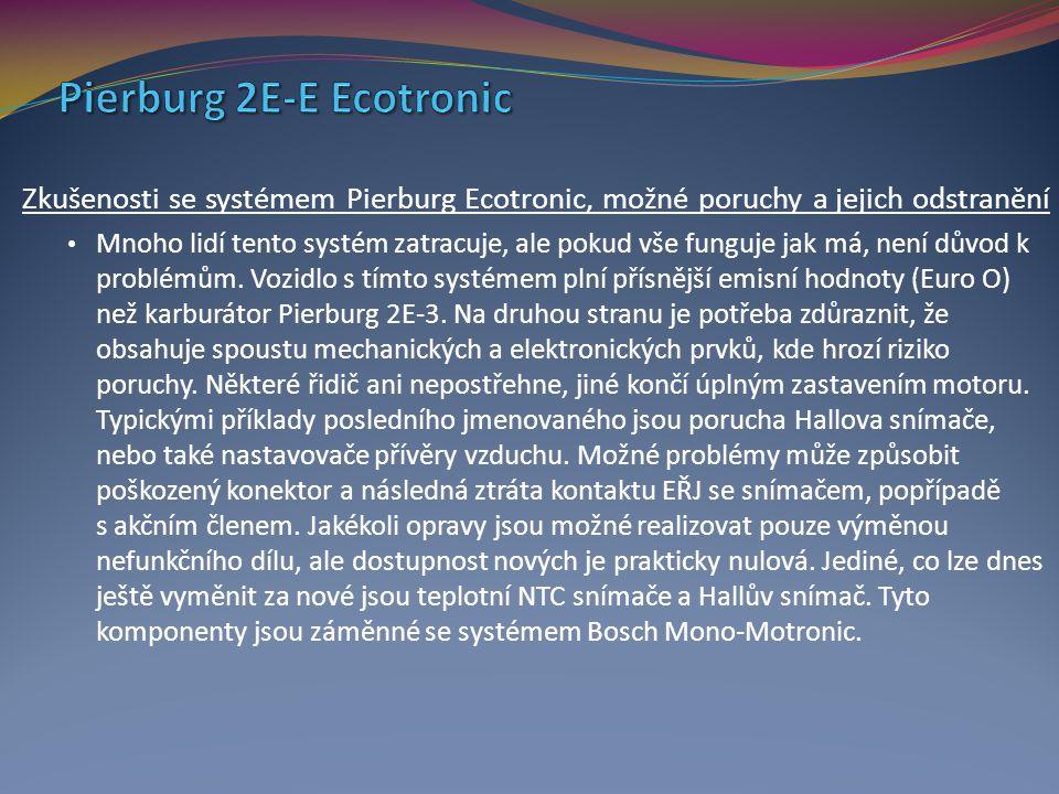 Pierburg 2E-E Ecotronic