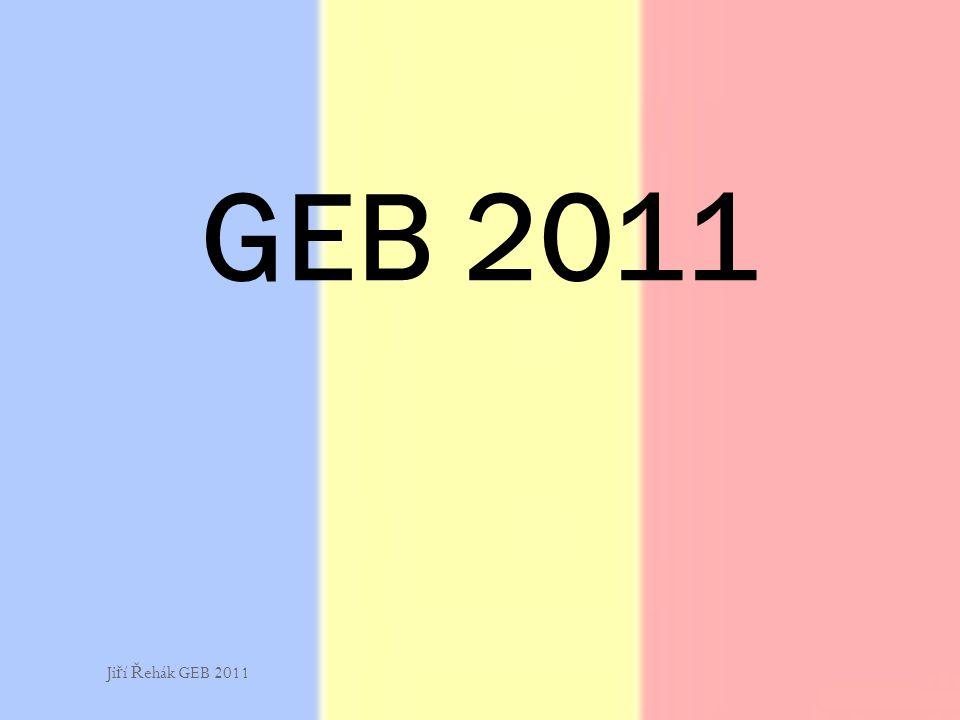 GEB 2011 Jiří Řehák GEB 2011