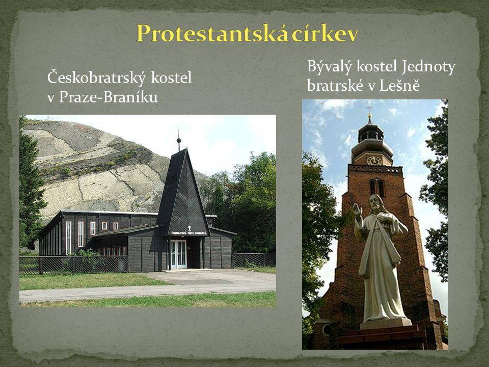 Protestantská církev Bývalý kostel Jednoty bratrské v Lešně