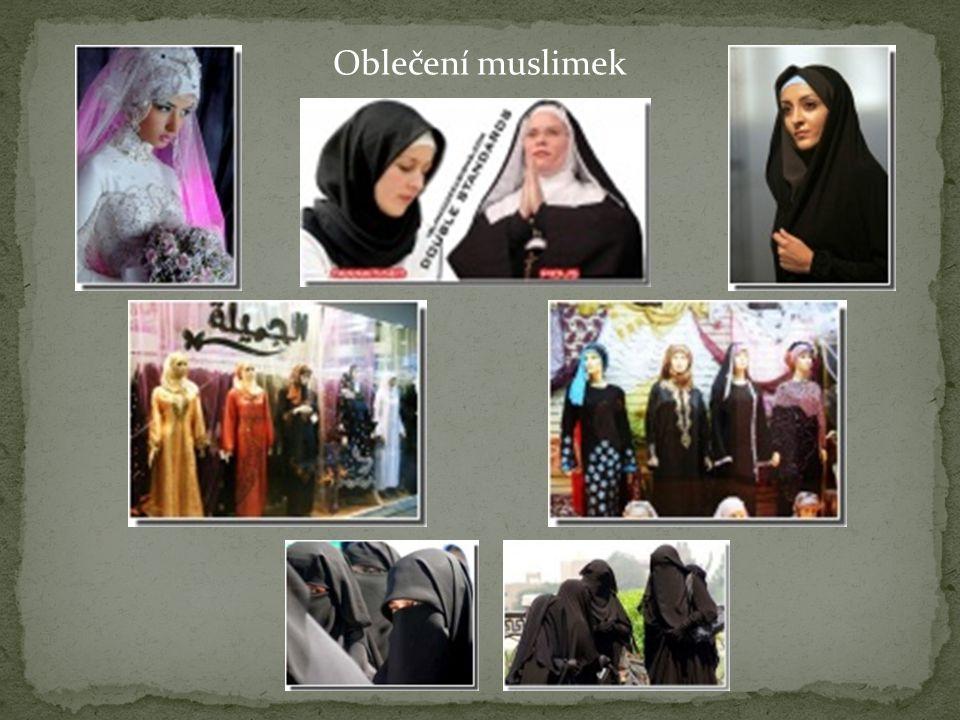 Oblečení muslimek