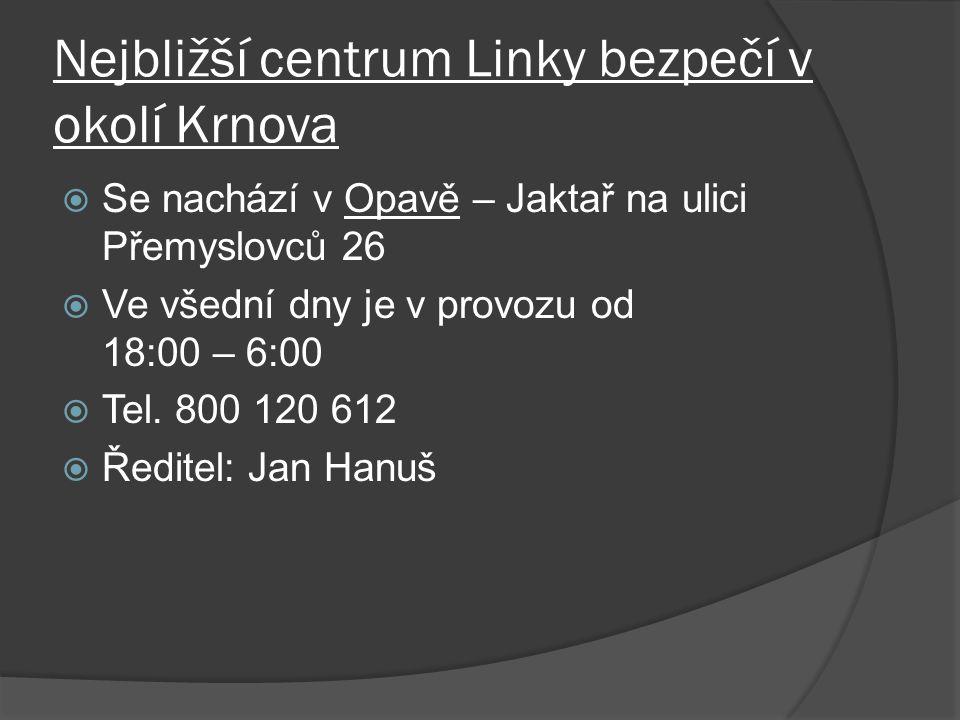 Nejbližší centrum Linky bezpečí v okolí Krnova