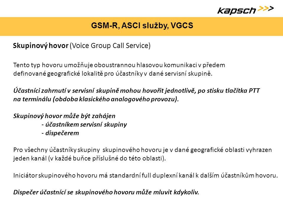 Skupinový hovor (Voice Group Call Service)