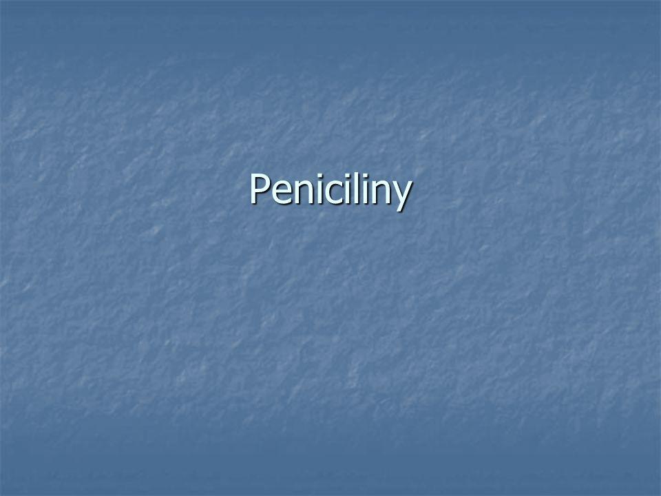 Peniciliny