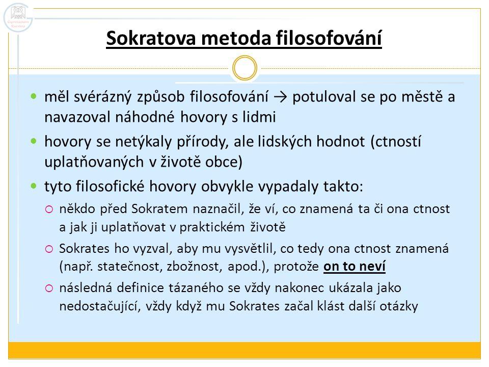 Sokratova metoda filosofování