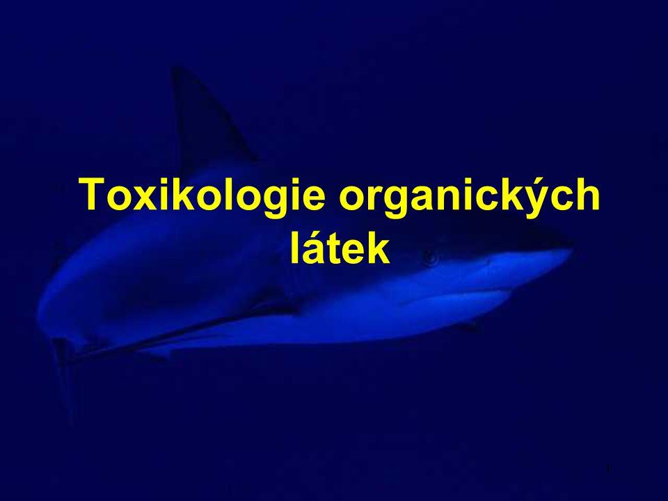 Toxikologie organických látek