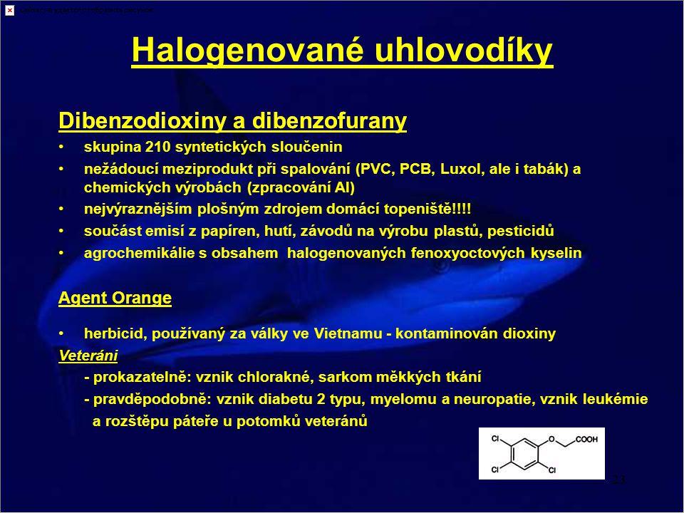 Halogenované uhlovodíky
