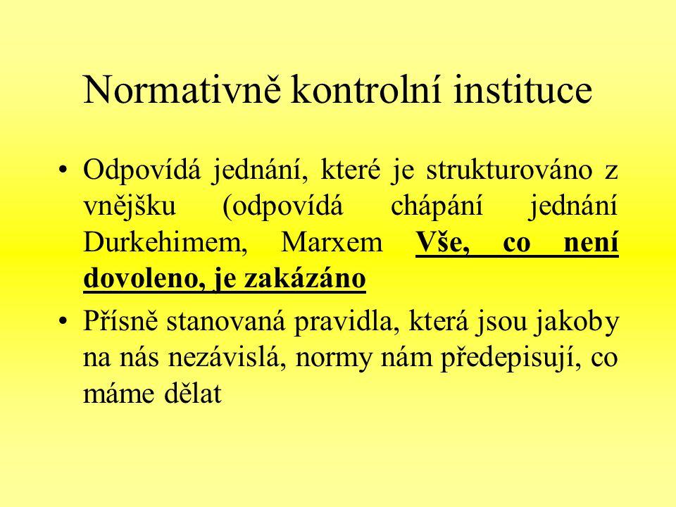 Normativně kontrolní instituce