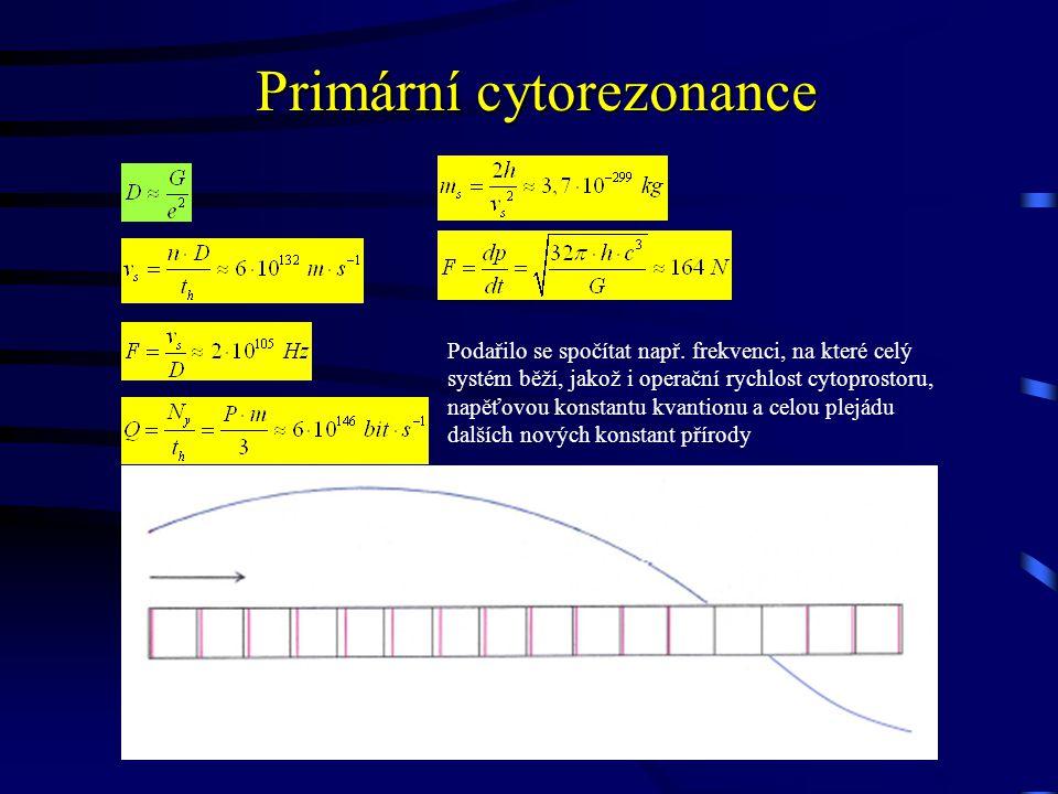 Primární cytorezonance