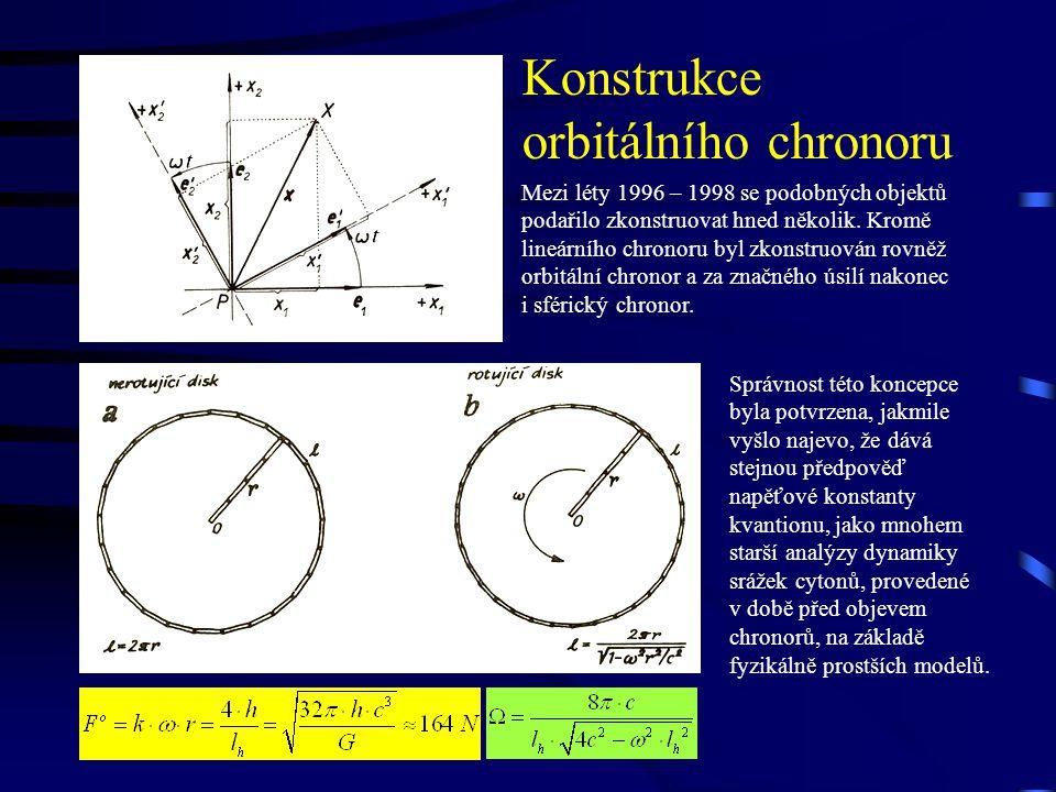 Konstrukce orbitálního chronoru