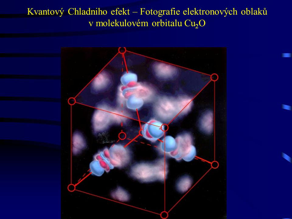 Kvantový Chladniho efekt – Fotografie elektronových oblaků