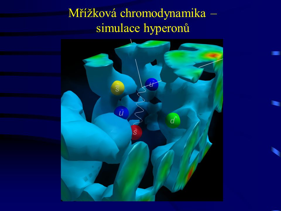 Mřížková chromodynamika – simulace hyperonů