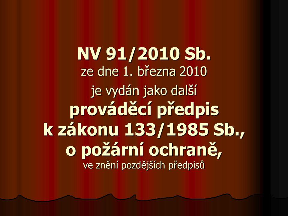 NV 91/2010 Sb. ze dne 1.