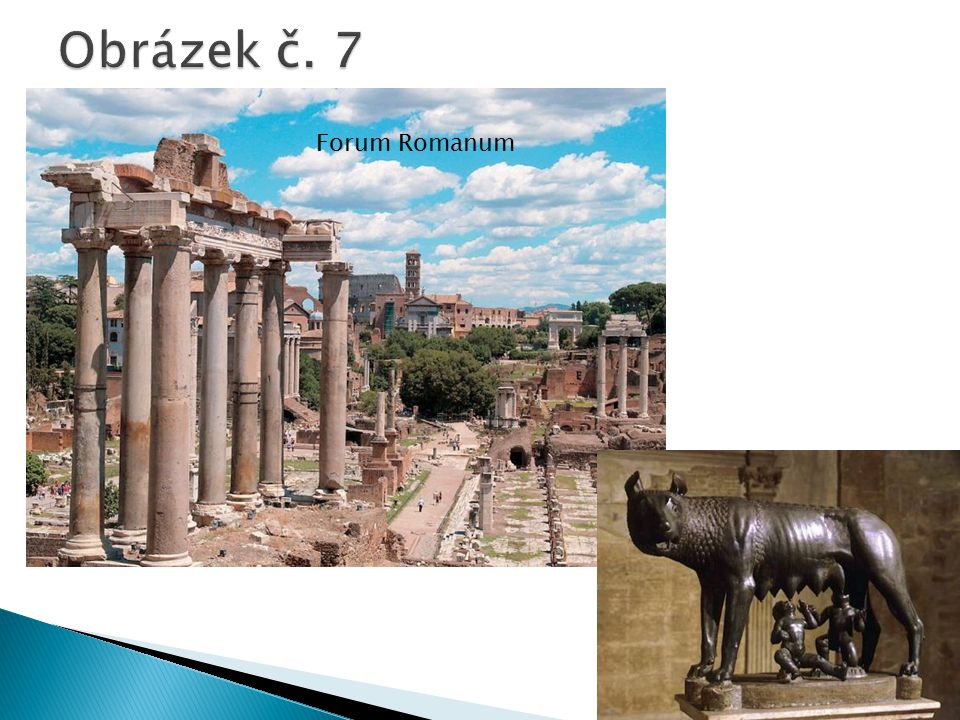 Obrázek č. 7 Forum Romanum