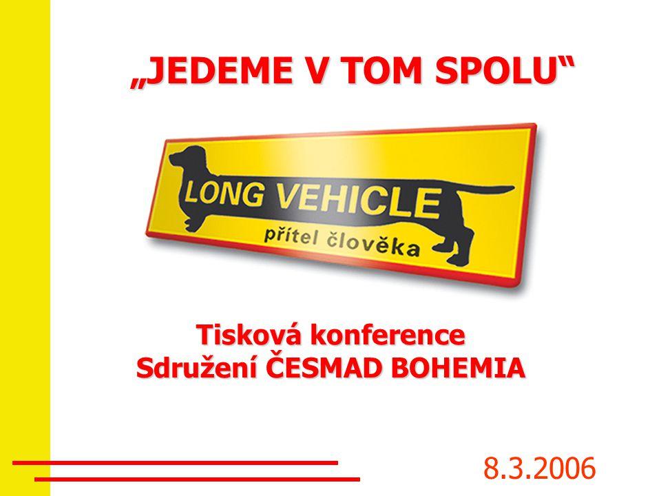 Tisková konference Sdružení ČESMAD BOHEMIA