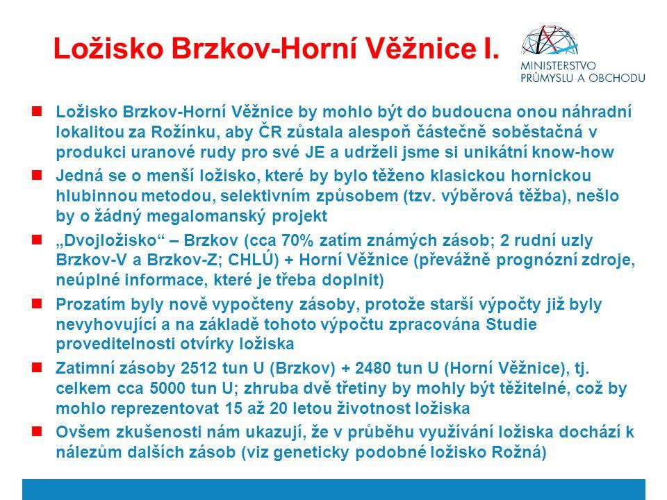 Ložisko Brzkov-Horní Věžnice I.