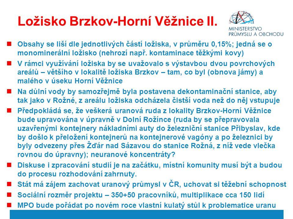 Ložisko Brzkov-Horní Věžnice II.