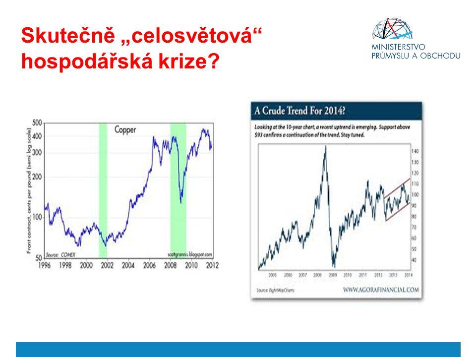 """Skutečně """"celosvětová hospodářská krize"""