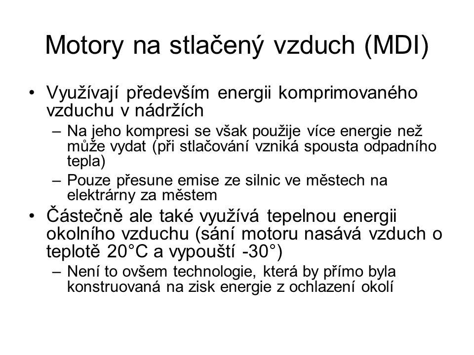 Motory na stlačený vzduch (MDI)