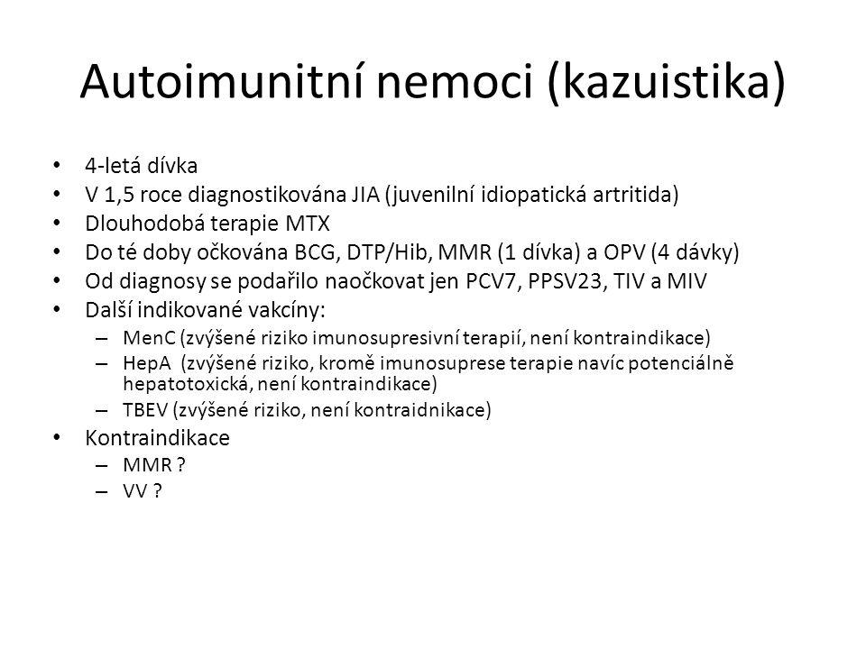 Autoimunitní nemoci (kazuistika)