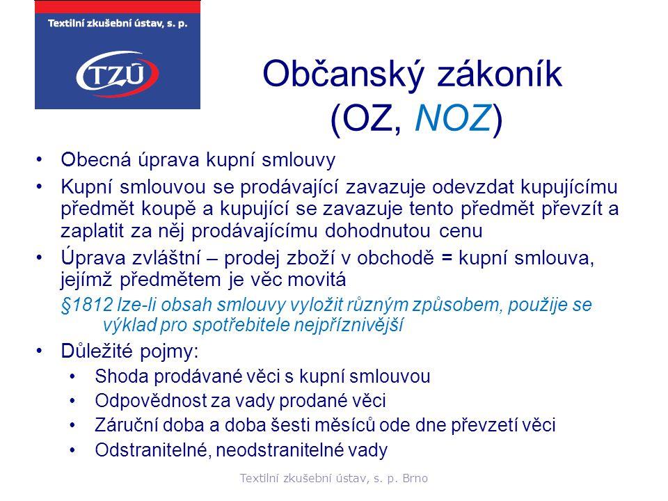 Občanský zákoník (OZ, NOZ)