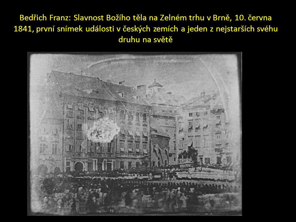 Bedřich Franz: Slavnost Božího těla na Zelném trhu v Brně, 10