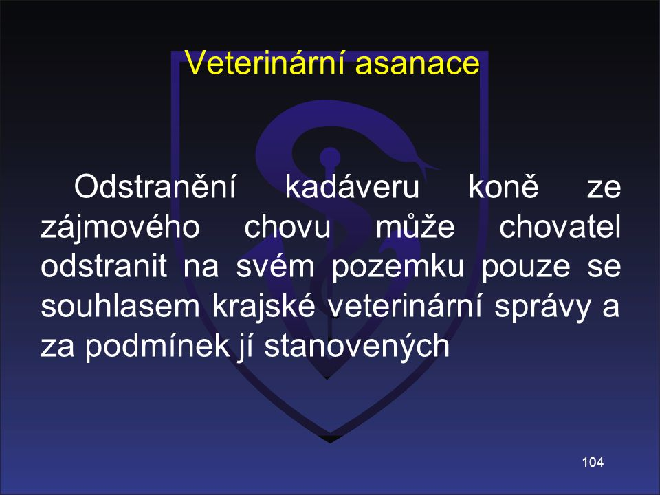 Veterinární asanace
