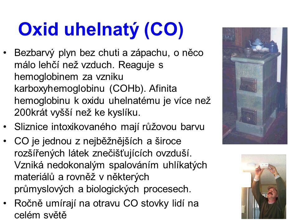 Oxid uhelnatý (CO)