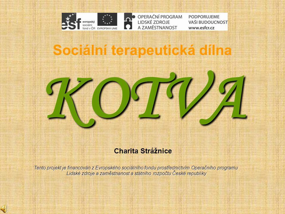 Sociální terapeutická dílna KOTVA