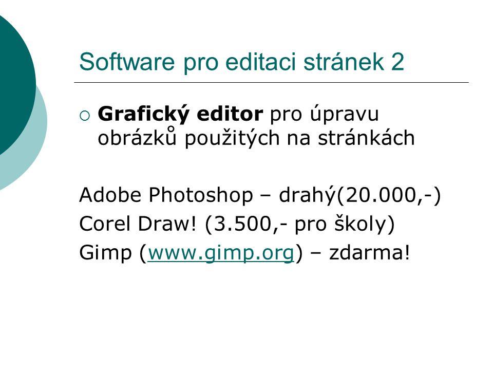 Software pro editaci stránek 2