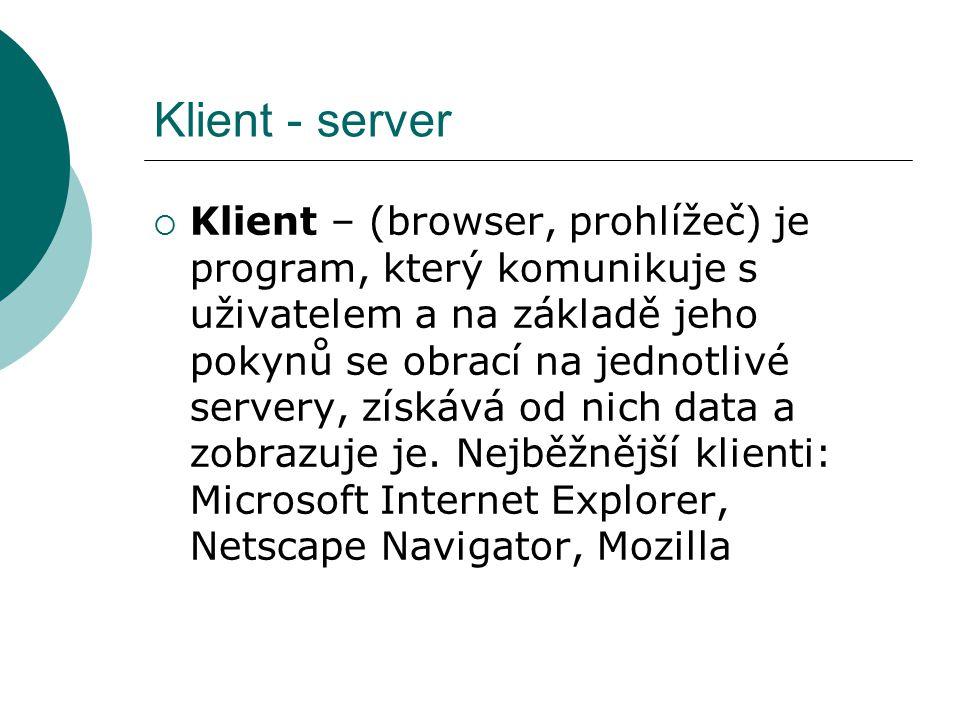 Klient - server
