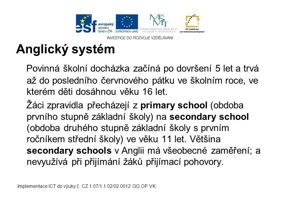 Anglický systém