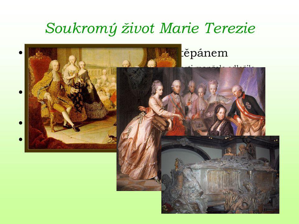 Soukromý život Marie Terezie
