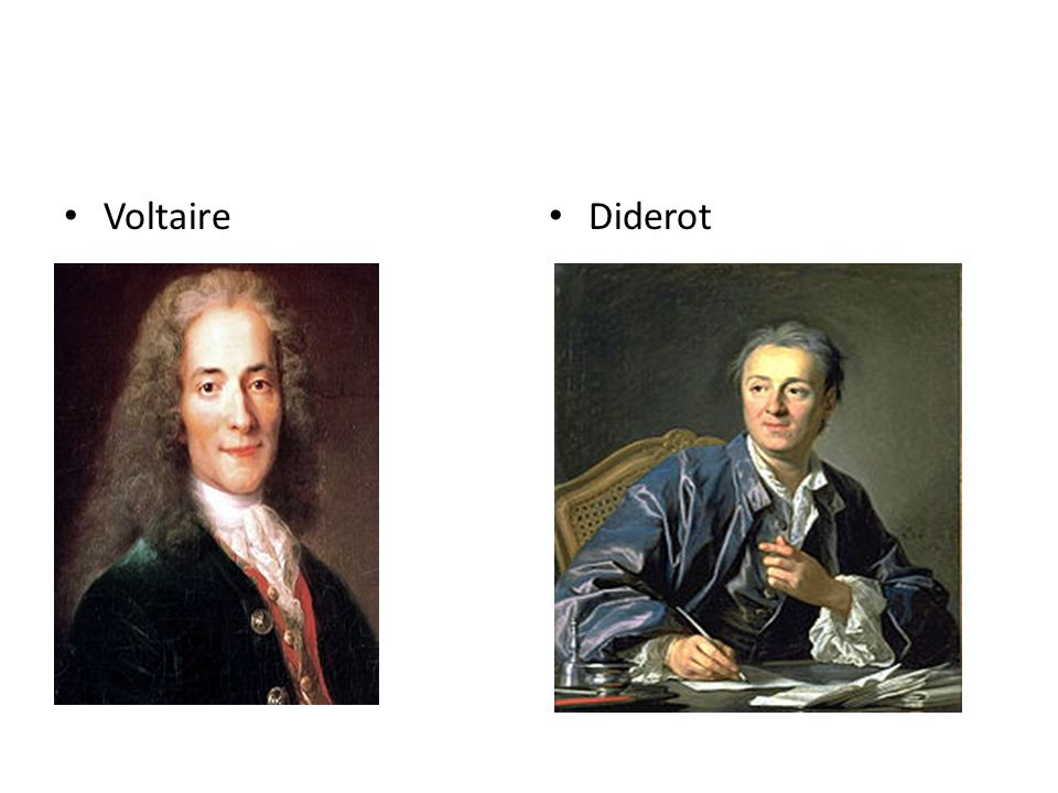Voltaire Diderot