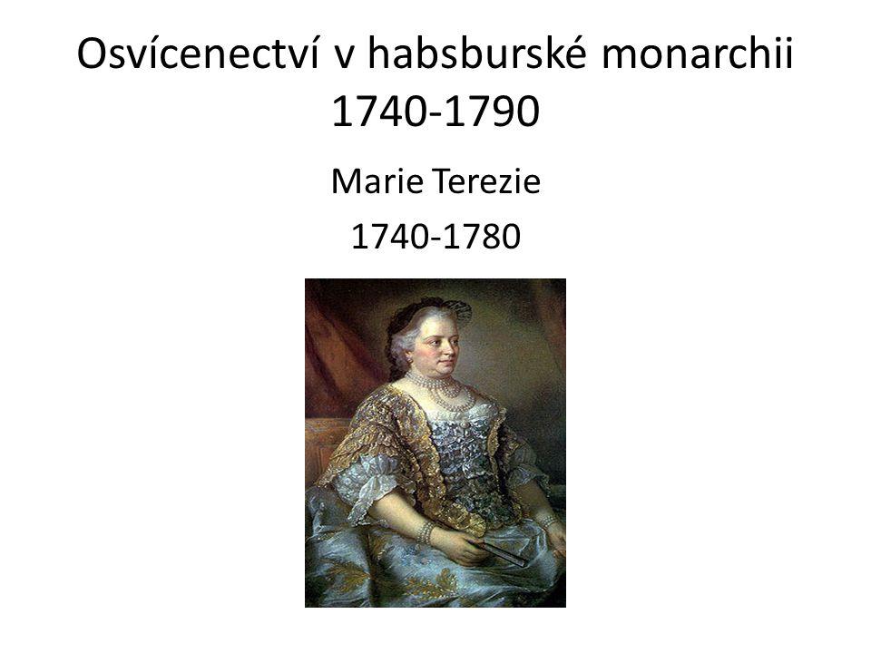 Osvícenectví v habsburské monarchii 1740-1790