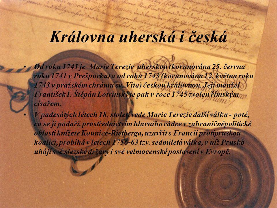 Královna uherská i česká