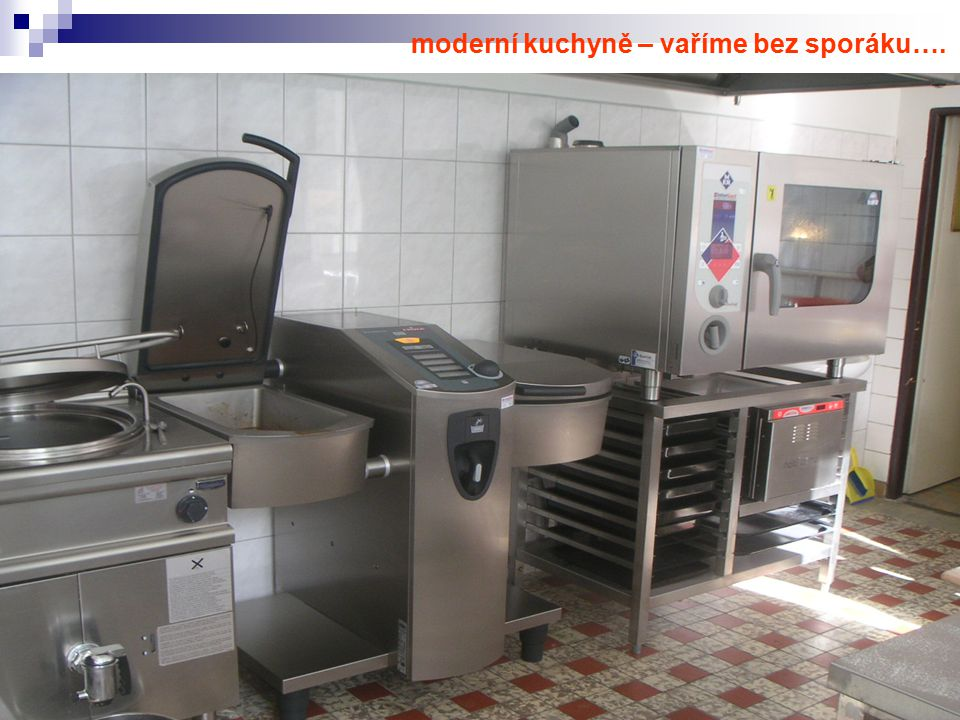 moderní kuchyně – vaříme bez sporáku….