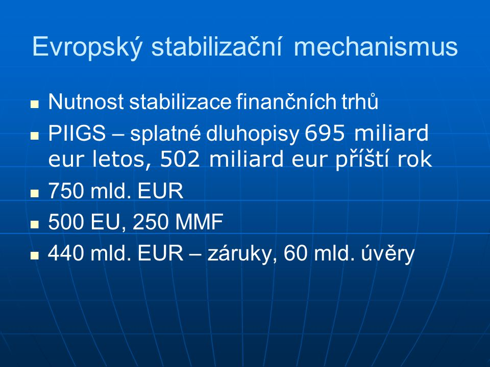 Evropský stabilizační mechanismus