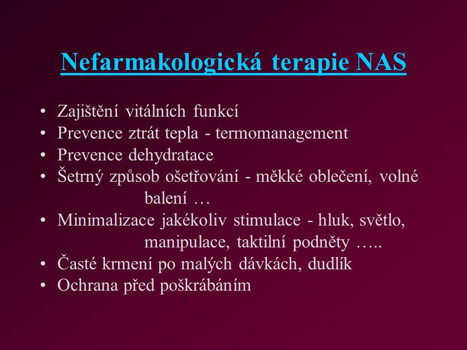 Nefarmakologická terapie NAS