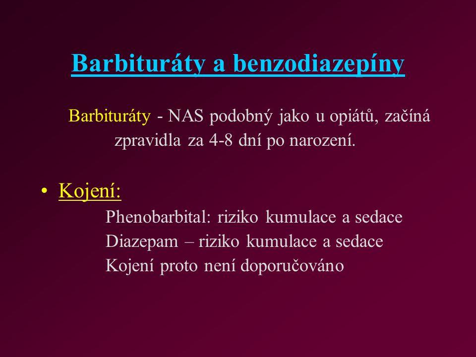 Barbituráty a benzodiazepíny