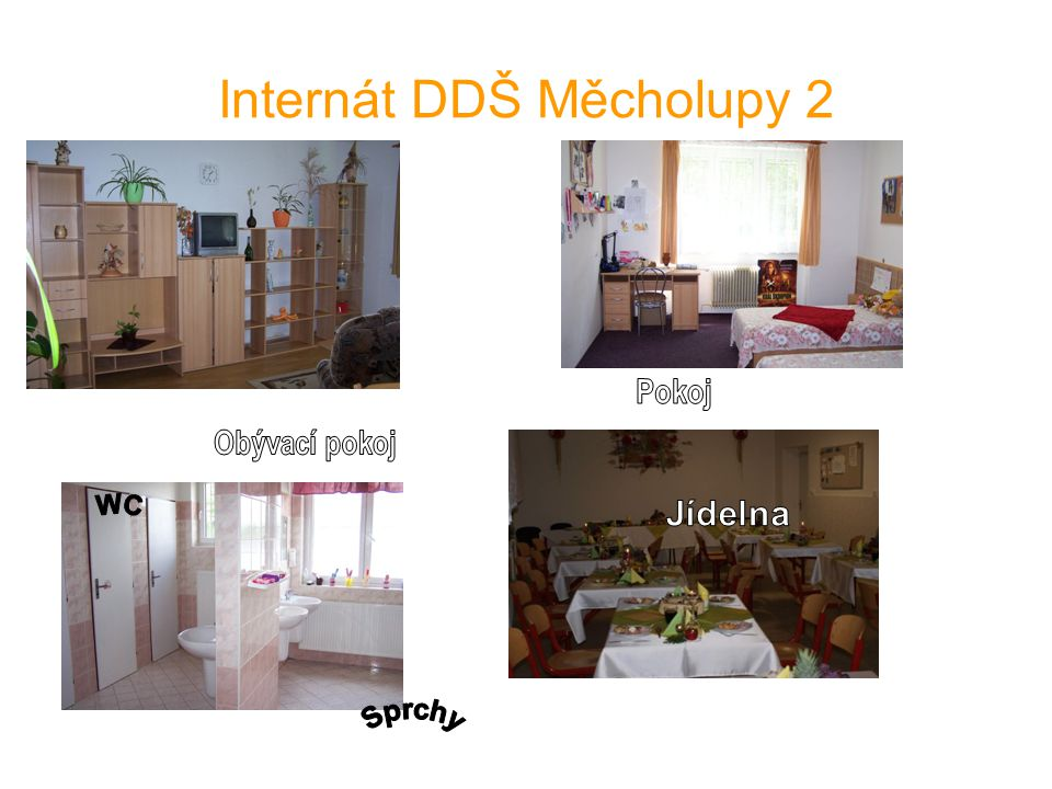 Internát DDŠ Měcholupy 2