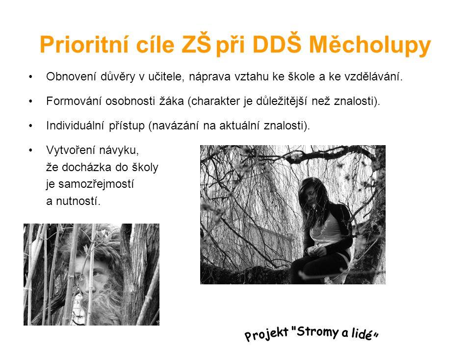 Prioritní cíle ZŠ při DDŠ Měcholupy