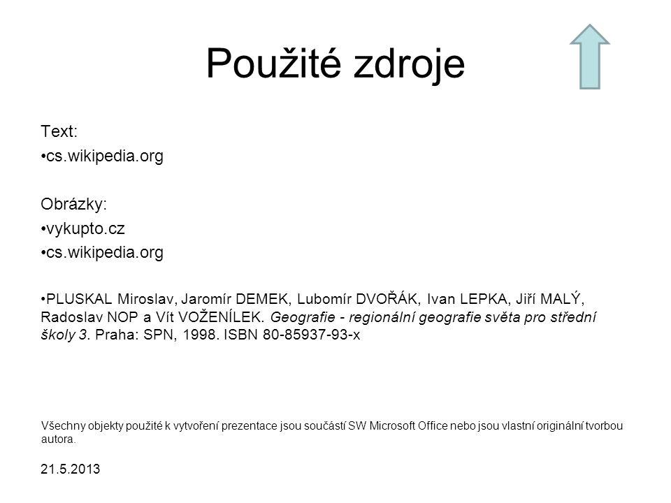 Použité zdroje Text: cs.wikipedia.org Obrázky: vykupto.cz