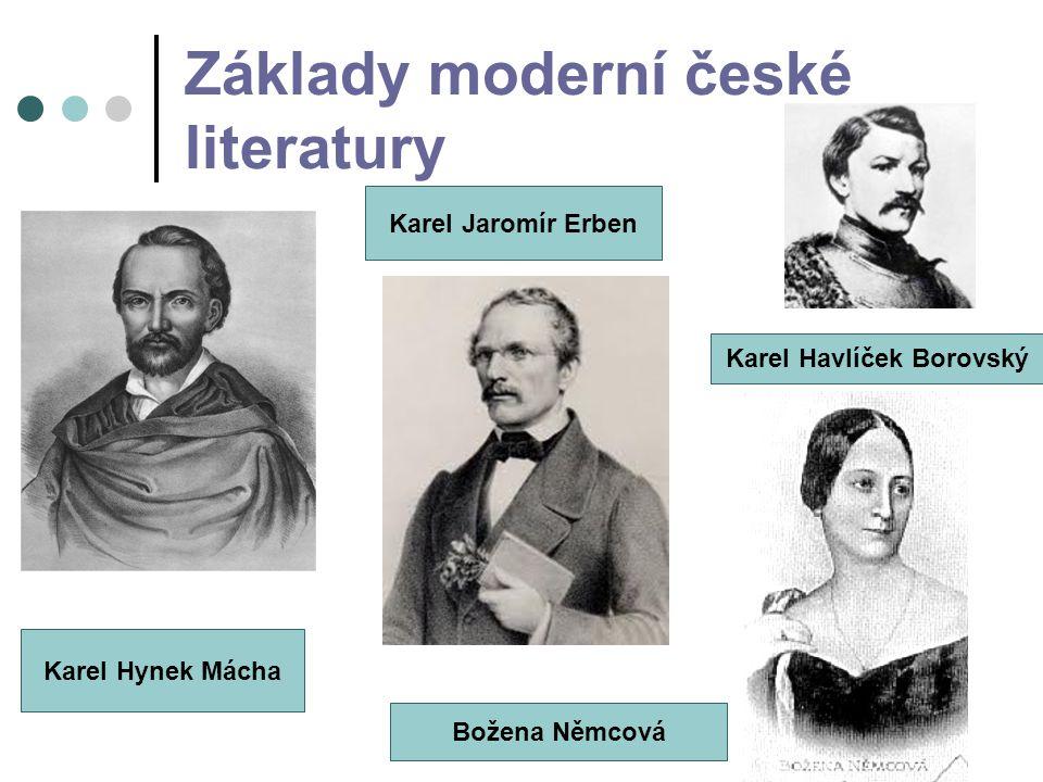 Základy moderní české literatury