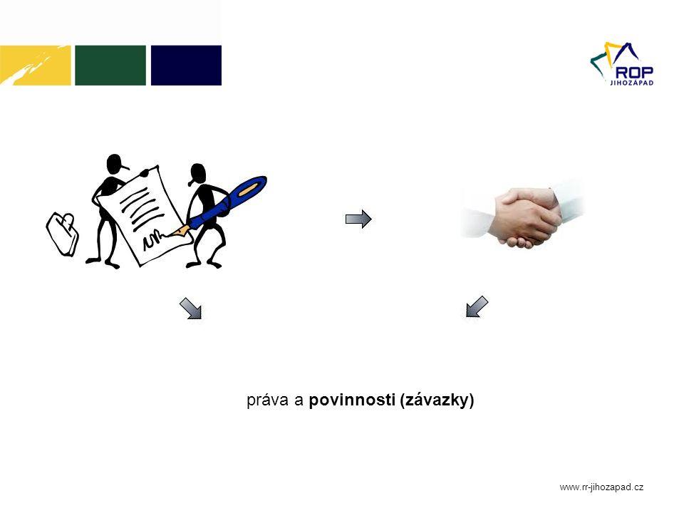 práva a povinnosti (závazky)
