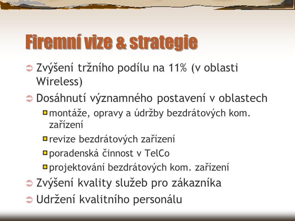 Firemní vize & strategie