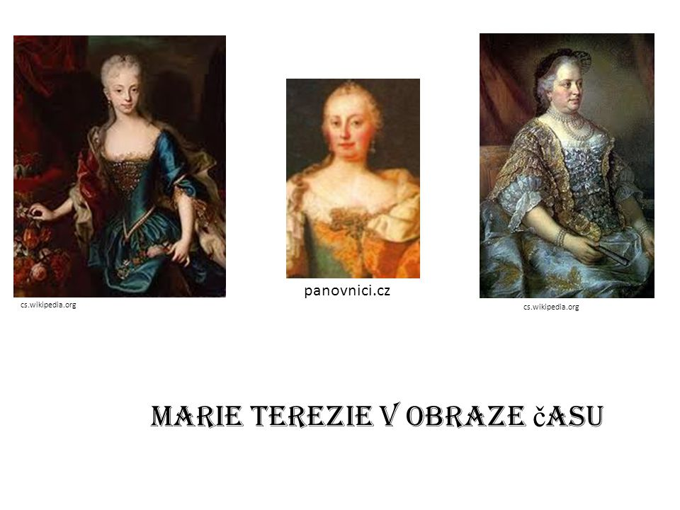 Marie Terezie v obraze času