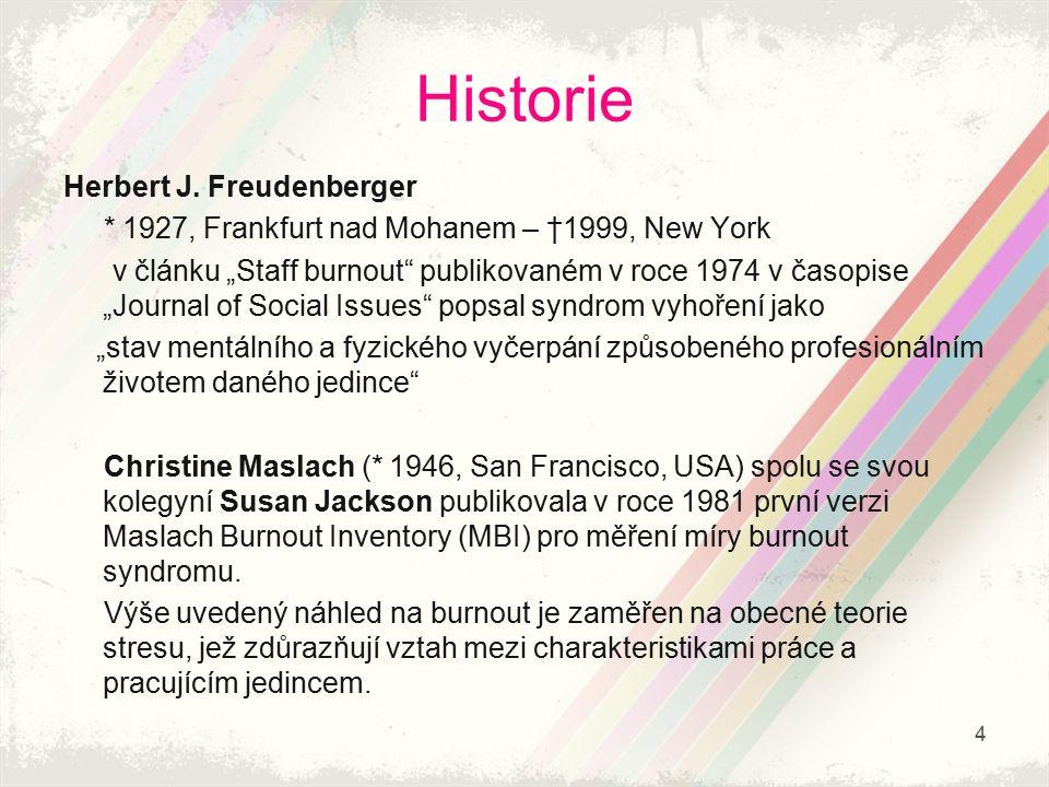 Historie Herbert J. Freudenberger