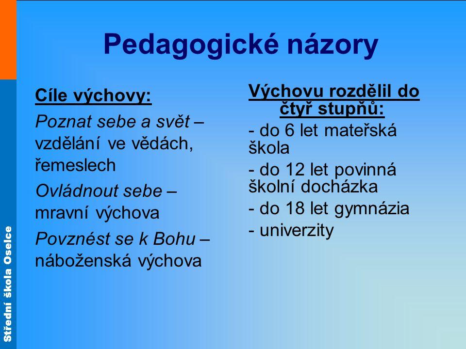 Pedagogické názory